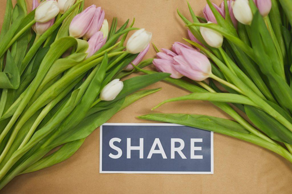 Share Social Media Background